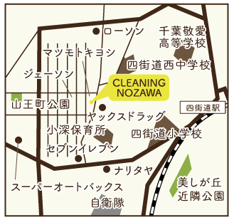 店舗案内地図の画像